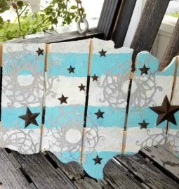 Mixed Media Americana Pallet Decor