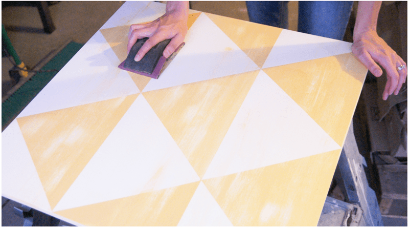 Pottery Barn Knock-Off: Diamond Panel Wall Art DIY