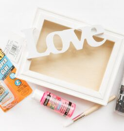 Washi Tape Love Frame